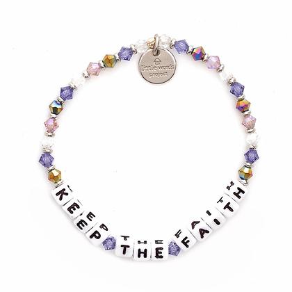 Keep the Faith Bracelet -- Purple Haze