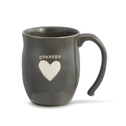 Warm Heart Mug Grandpa