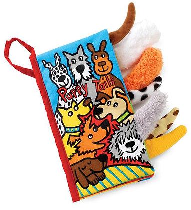 Puppy Tails Sensory Cloth Book