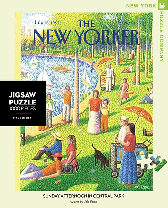 Sunday Afternoon in Central Park 1000pc Jigsaw Puzzle