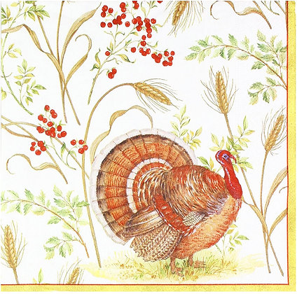 Golden Harvest Paper Luncheon Napkins--20 per package