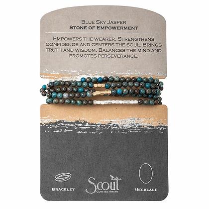 Blue Sky Jasper Wrap--Stone of Empowerment