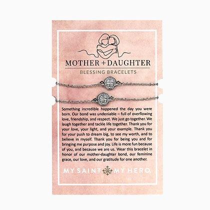 Mother + Daughter Blessing Bracelets