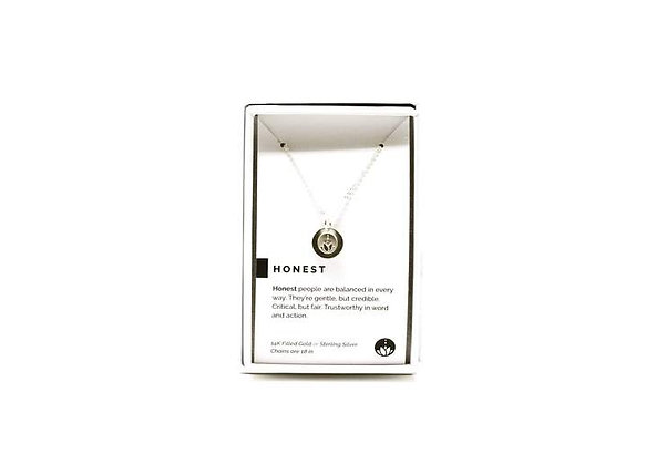 Honest Necklace Silver