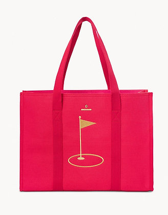Embroidered Carry All Tote