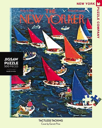 Tactless Tacking 500pc Jigsaw Puzzle