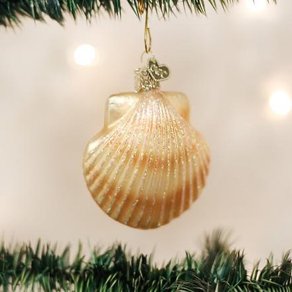 Scallop Shell Ornament from Old World Christmas