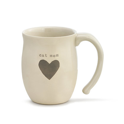 Warm Heart Mug Cat Mom