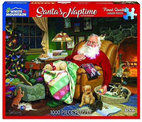 Santa's Naptime 1000pc Jigsaw Puzzle