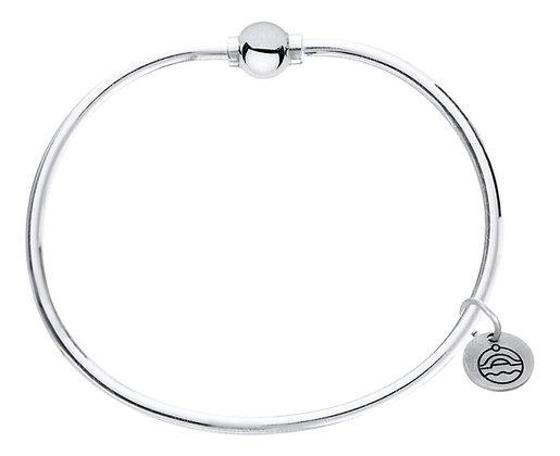Cape Cod Single Bead Bracelet Sterling Silver