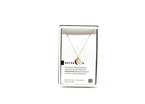 Determined Necklace Gold