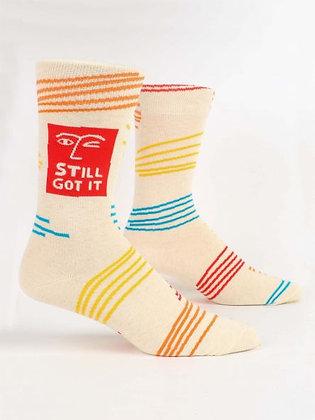 Still Got It Men's Crew Socks