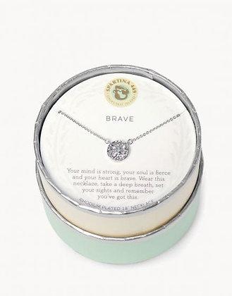 Sea La Vie Brave Necklace