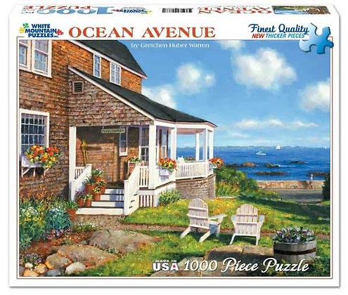 Ocean Avenue 1000pc Jigsaw Puzzle