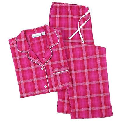 Kinsey Cotton Classic Long Sleeve Pajamas