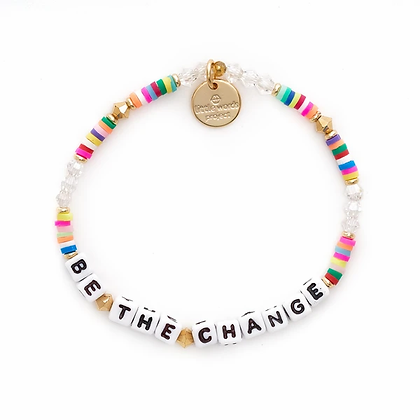 Be the Change Bracelet -- Rainbow