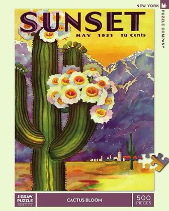 Cactus Blooms 500pc Jigsaw Puzzle
