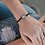 Thumbnail: Empower Seed of Life Illuminate Bracelet Black/Silver