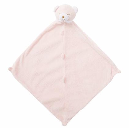 Pink Bear Lovey Blankie