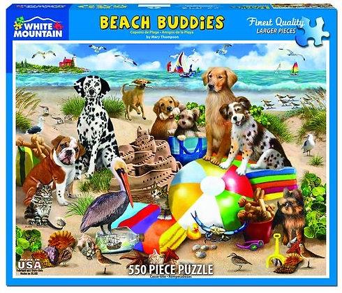 Beach Buddies 550pc Jigsaw Puzzle