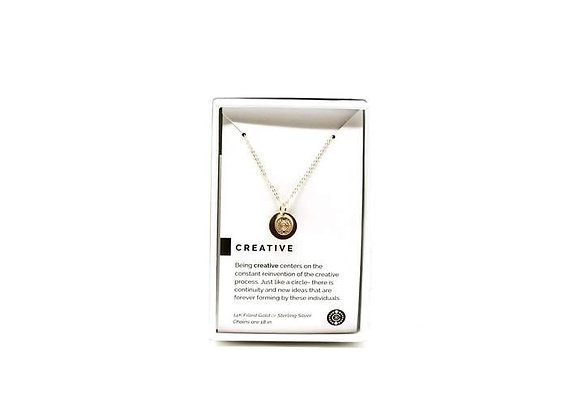 Creative Necklace Gold