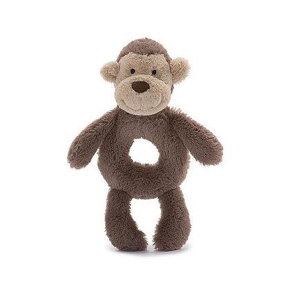 Bashful Monkey Ring Rattle