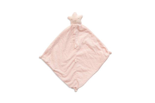 Pink Star Lovey Blankie