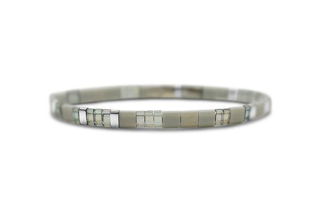 Gracious Grey/Self Love Tile Bracelet