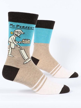 Mr. Perfect Men's Crew Socks