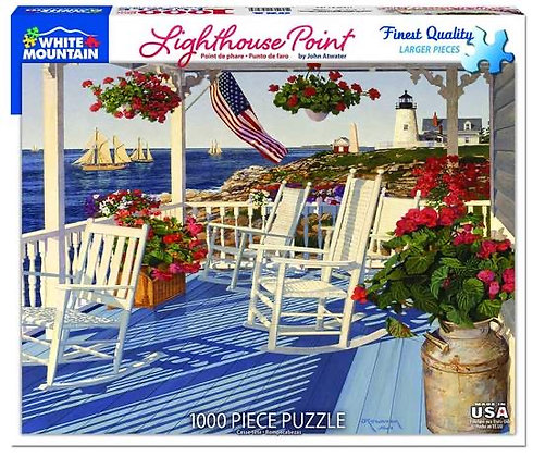Lighthouse Point 1000pc Jigsaw Puzzle