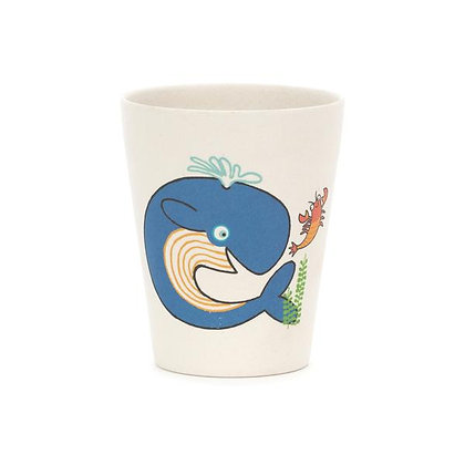 Sea Tails Bamboo Cup