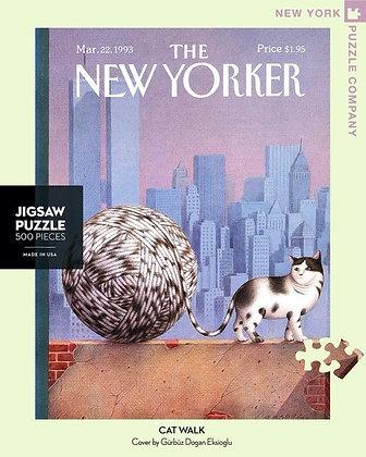 Cat Walk 500pc Jigsaw Puzzle