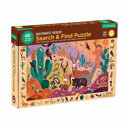 Southwest Desert Search & Find Puzzle