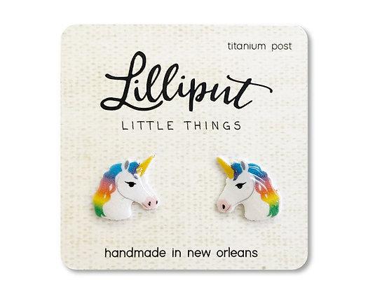 Rainbow Unicorn Earrings