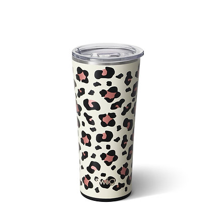Luxy Leopard Insulated Stainless Steel Tumbler 22oz