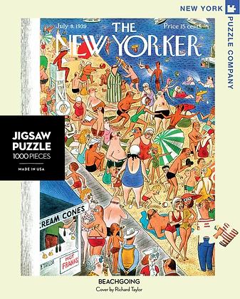 Beachgoing 1000pc Jigsaw Puzzle