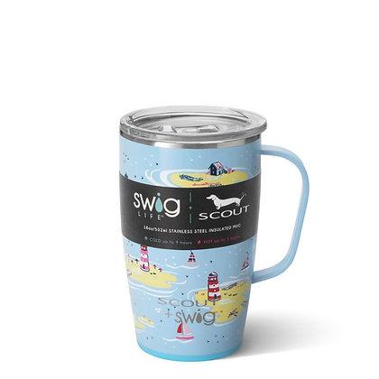 Swig 18oz Mug Ships & Giggles