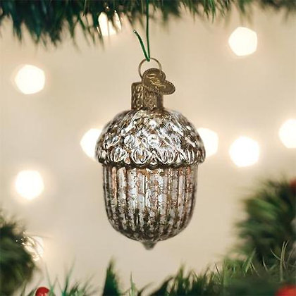 Vintage Acorn Ornament from Old World Christmas