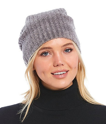 Barefoot Dreams Ash/Pewter Cozychic Lite Ribbed Beanie