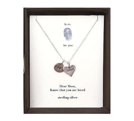 Dear Mom, Know That You Are Loved Necklace