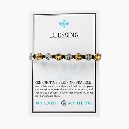 Benedictine Blessing Bracelet Mixed Metal