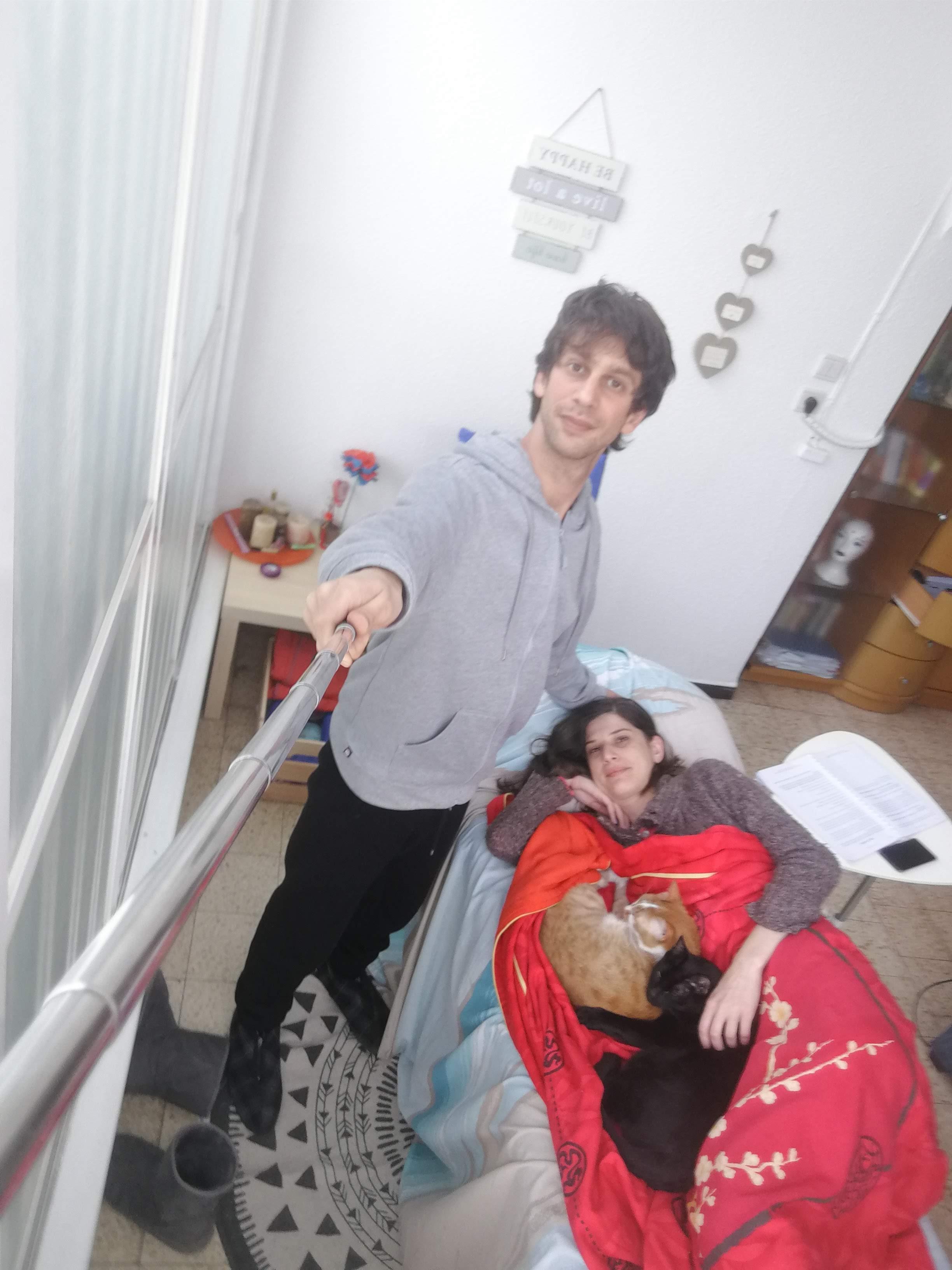 סשן אקסס בארס עם אישתי