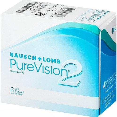 Контактные линзы ( срок ношения 1 месяц) цена за одну линзу PureVision