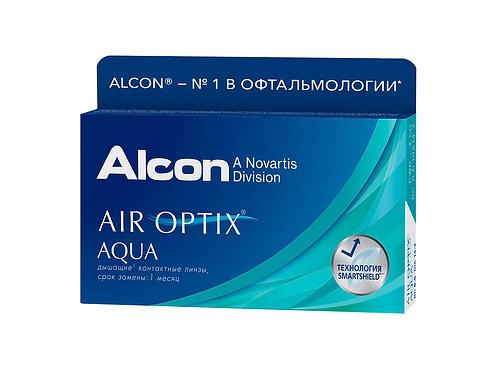 Контактные линзы AIR OPTIX ( срок ношения 1 месяц) цена за 1 шт.