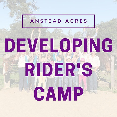 Developing Rider's Camp