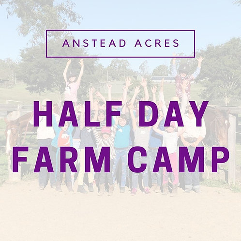 Kids Half Day Farm Camp