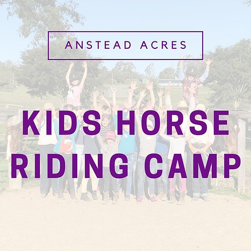 Kids Horse Riding Camp