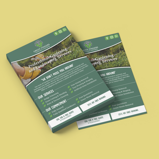 Green Fingers Gardening Services Leaflet