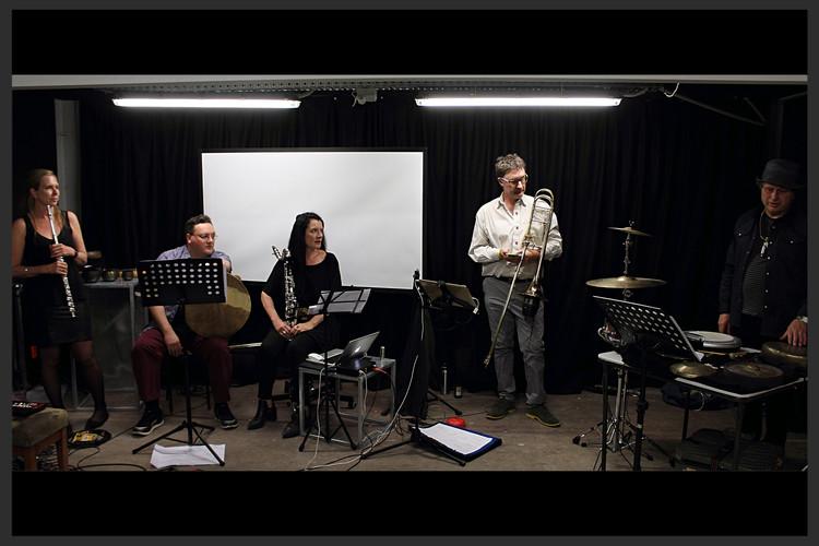 Nunique Quartet at Tilde New Music Festival