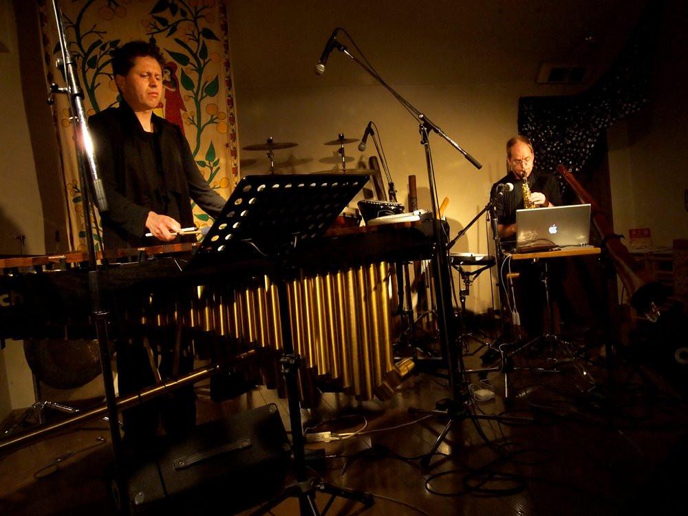 Duality: Steve Falk Andy Bevan at Otoyakintoki Ogikubo Tokyo